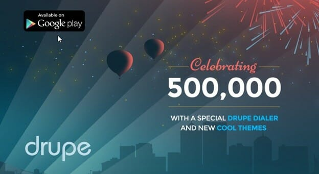 Drupe_500k users