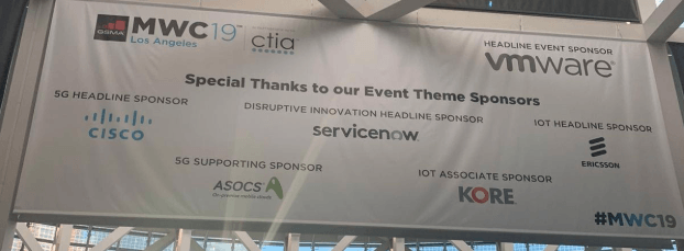 ASOCS branding in MWC LA