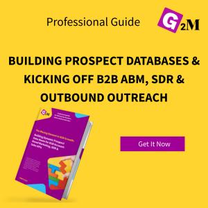 BUILDING PROSPECT-DATABASES & KICKING OFF B2B ABM, SDR & OUTBOUND OUTREACH